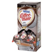 Nestlé® Coffee-mate® Coffee Creamer, Café Mocha, .375oz liquid creamer singles, 200 count