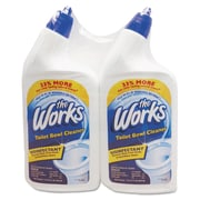 The Works® Disinfectant Toilet Bowl Cleaner, Fresh, 32 oz, 2/Pack (KIK 33302WK)