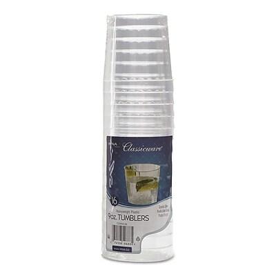 WNA Classicware® Tumblers, 9 oz, Rocks Glass, Clear, 240/Carton (WNA RSCCR91516)