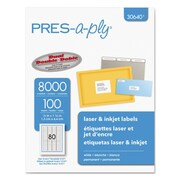 PRES-a-ply® Labels, 1/2 x 1 3/4, Each (30640)