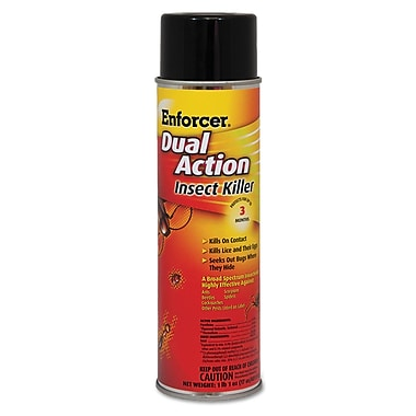Enforcer® Dual Action Insect Killer, 17 oz Aerosol, Each (1047651)