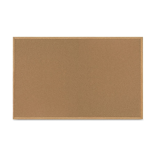 Mastervision Value Cork Board With Oak Frame 48 X 72