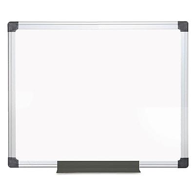 MasterVision Porcelain Value Dry Erase Board, White, 36