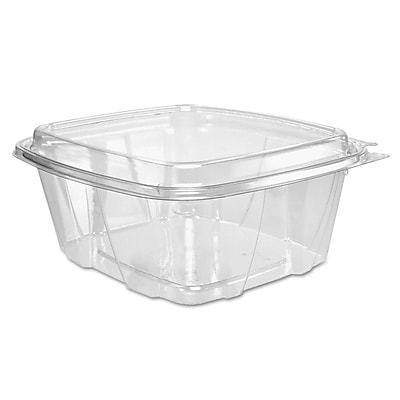 Dart ClearPac Clear Container Lid Combo-Packs, 32 oz, Clear, 200/carton (DCC CH32DED) DCCCH32DED