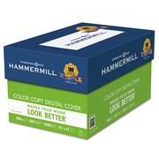 Hammermill® Color Copy Digital Cover Stock, 8 1/2 x 11, Photo White, 1500/Carton (120024)