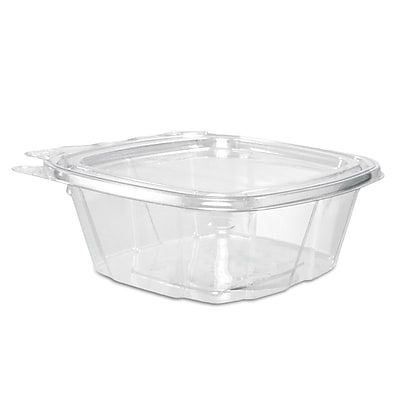 Dart ClearPac Clear Container Lid Combo-Packs, 12 oz, Clear, 200/carton (DCC CH12DEF) DCCCH12DEF
