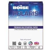 Boise POLARIS™ Premium Multipurpose Paper, 8 1/2 x 11, White, 5000/Carton (POL-2411)