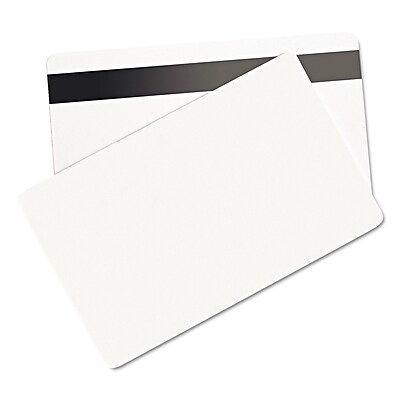 Baumgartens SICURIX Blank ID Card, 100/Pack (BAU80340)