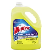 Windex® Multi-Surface Disinfectant Cleaner, Citrus, 1 gal, 4/Carton (CB704336)