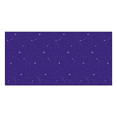 Pacon Fadeless® Themed Paper Roll, Night Sky, 48