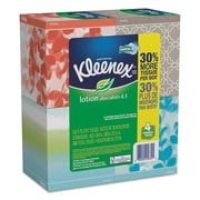Kleenex® Lotion Facial Tissue, 2-Ply, 75 Sheets, 4/Pack (25834)