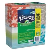 Kleenex® Lotion Facial Tissue, 2-Ply, 75 Sheets, 4/Pack (25834)