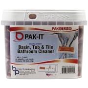 PAK-IT® Basin, Tub and Tile Cleaner, Ocean, 4 oz, Each (5722103100EA)