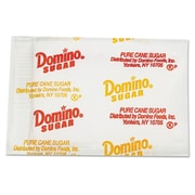 Domino® Sugar Portion Packets, 0.010 oz, 2000/Carton (375252)