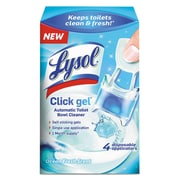 LYSOL® Brand Click Gel™ Automatic Toilet Bowl Cleaner, Ocean Fresh, 0.16 oz, Each (92918)