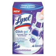 LYSOL® Brand Click Gel™ Automatic Toilet Bowl Cleaner, Lavender, 0.16 oz, Each (92919)