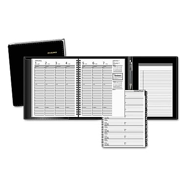 2016-2017, AT-A-GLANCE® Plus Weekly Appointment Book, Black (70-865P-05)