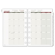 Day Runner® Monthly Planning Pages, 5 1/2 x 8 1/2 (061-685Y-09)