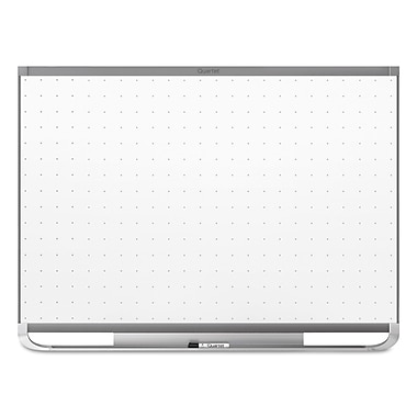 Quartet® Prestige® 2 Total Erase® Magnetic Whiteboard, 3' x 2', Graphite Finish Frame (TEM543G)