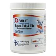 PAK-IT® Basin, Tub and Tile Cleaner, Ocean, 4 oz, Each (5722102020EA)