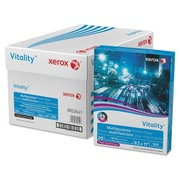 Xerox® Vitality™ Multipurpose Printer Paper, 8 1/2 x 11, White, 5000/Carton (3R2641)