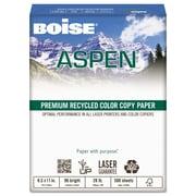 Boise ASPEN Premium Color Copy Paper, 8 1/2 x 11, White, 500/Ream (ACC2811)