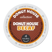 Donut House™ Decaf Coffee K-Cups®, Donut House™ Decaf, 96/Carton (7534)