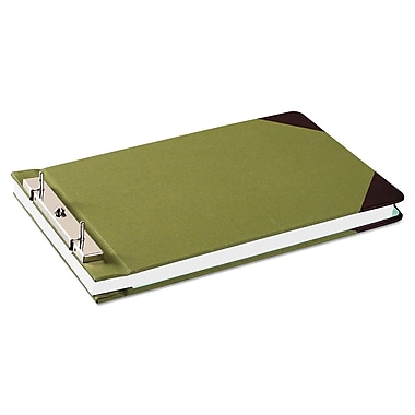 Wilson Jones® Canvas Sectional Storage Post Binder, 8 1/2 x 14, Non-View, Each (W278-32A)