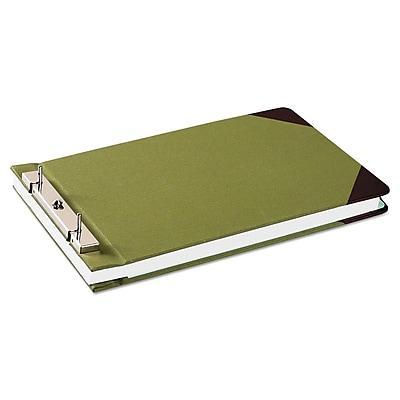 Wilson Jones® Canvas Sectional Storage Post Binder, 8 1/2 x 14, Non-View, Each (W278-32A)