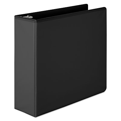 Wilson Jones® Basic D-Ring View Binder, 8 1/2 x 11, View, Each (W386-49BPP)