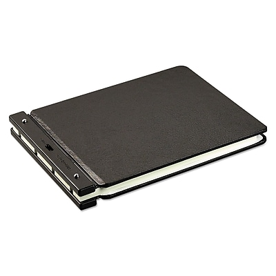 Wilson Jones® Raven® Vinyl-Guarded® Post Binder, 9 1/4 x 11 7/8, Non-View, Each (W241-40NA)