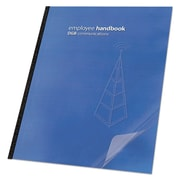 Swingline™ GBC® Clear View™ Presentation Covers for Binding Systems, Clear, 11 1/4 x 8 3/4 (2000036)