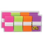 "Post-it® Flags, 1"" Wide, Assorted Colors, 160 Flags/Pack (680-PGOP2)"