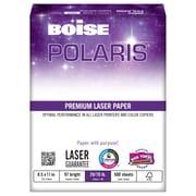 Boise POLARIS™ Premium Laser Paper, 8 1/2 x 11, White, 500/Ream (BPL-0211)