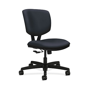 HON Volt Fabric Computer and Desk Office Chair, Armless, Navy (HON5721HWP37T)