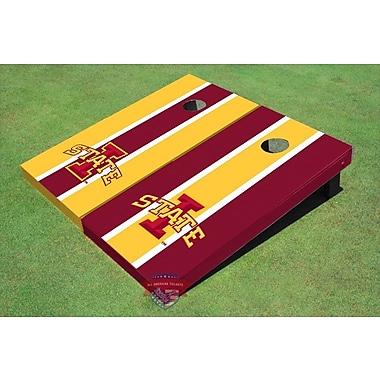 All American Tailgate NCAA Alternating Long Stripe Cornhole Board (Set of 2)