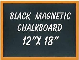 NeoPlex Wall Mounted Magnetic Chalkboard; 4' H x 5' W