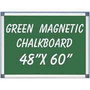 NeoPlex Magnetic Wall Mounted Chalkboard; 4' H x 5' W