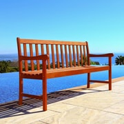 Vifah Nobi Wood Garden Bench