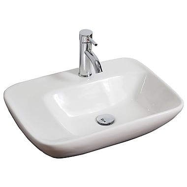 American Imaginations 5'' Wall Mounted Bathroom Sink; Gold