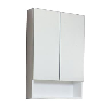 American Imaginations 24'' x 32'' Surface Mount Medicine Cabinet; White
