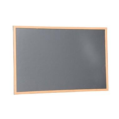 NeoPlex Wall Mounted Magnetic Chalkboard; 2' H x 3' W