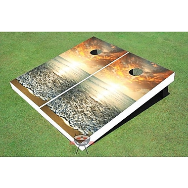 All American Tailgate Sunset Cornhole Board (Set of 2)