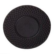 Creative Home Cast Iron Round Trivet; Black