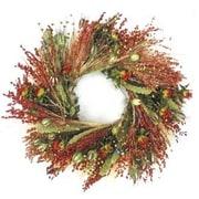 Dried Flowers and Wreaths LLC 22'' Fall Grasslands Wreath