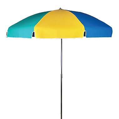Frankford Umbrellas 7.5' Drape Umbrella; Beach Ball