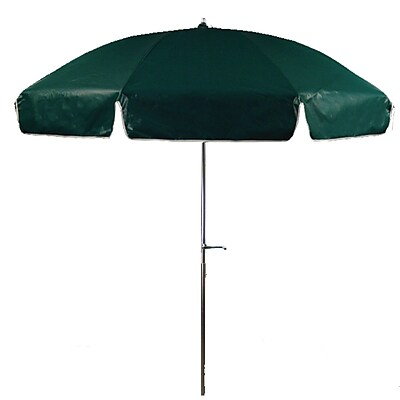 Frankford Umbrellas 7.5' Beach Umbrella; Forest Green