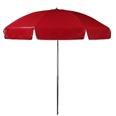 Frankford Umbrellas 7.5' Drape Umbrella; Red