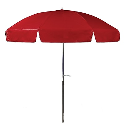 Frankford Umbrellas 7.5' Beach Umbrella; Red