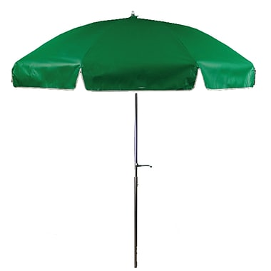 Frankford Umbrellas 7.5' Beach Umbrella; Kelly Green
